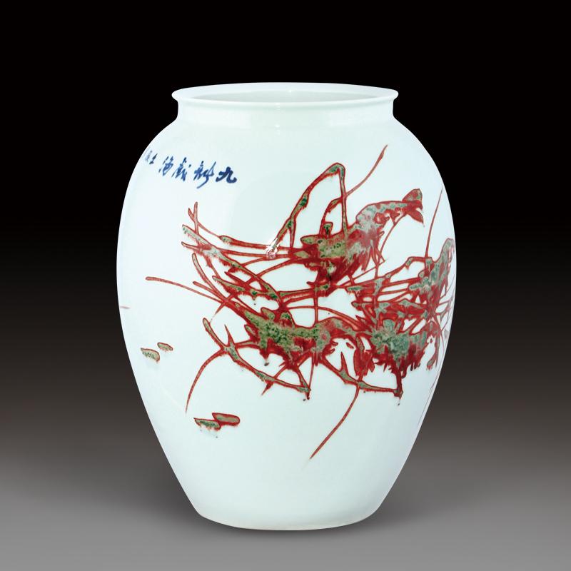 青花瓷瓷瓶简笔画内容图片展示