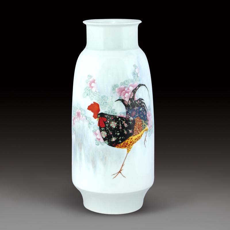 莲花瓷瓶简笔画