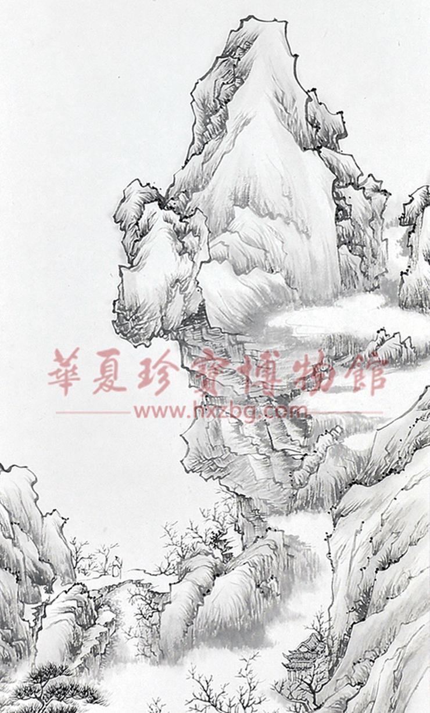 山水画泰斗李可染再传弟子刘二郎《春入画图中》4